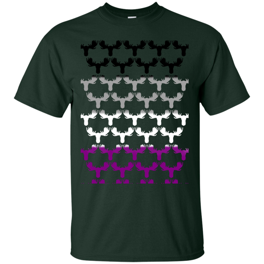 LGBT - Ace Moose asexuality T Shirt & Hoodie