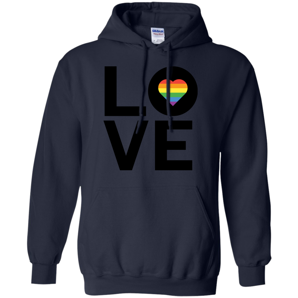 LGBT - LGBT Rainbow Love TShirt Gay Lesbian Inspired Rainbow Heart LGBT Pride gay pride pin T Shirt & Hoodie