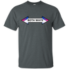 LGBT - Both Ways Bisexuality LGBT Pride Arrow Design bisexual T Shirt & Hoodie