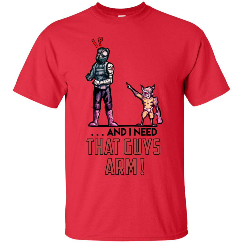Marvel -  And I Need That Guys Arm raccoon T Shirt & Hoodie