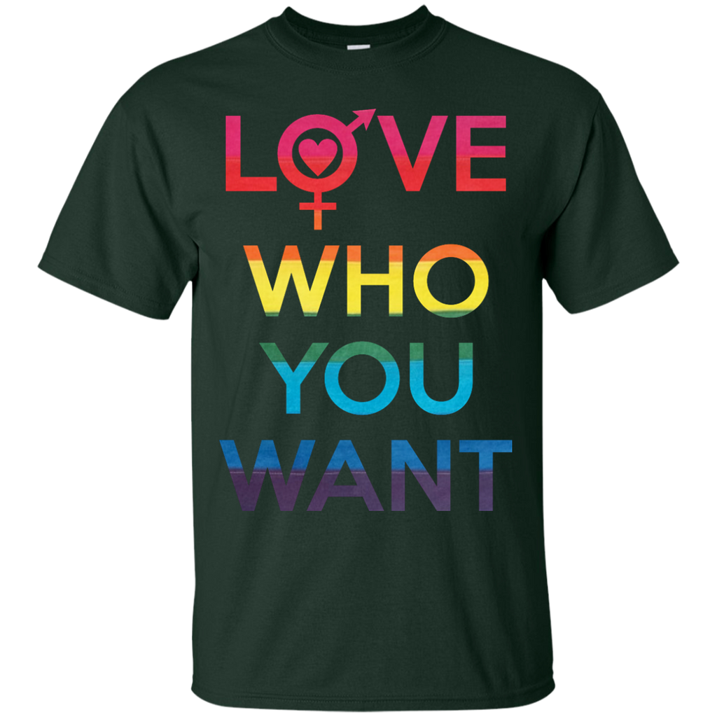 LGBT - Love Who You Want LGBT Pride lgbt T Shirt & Hoodie