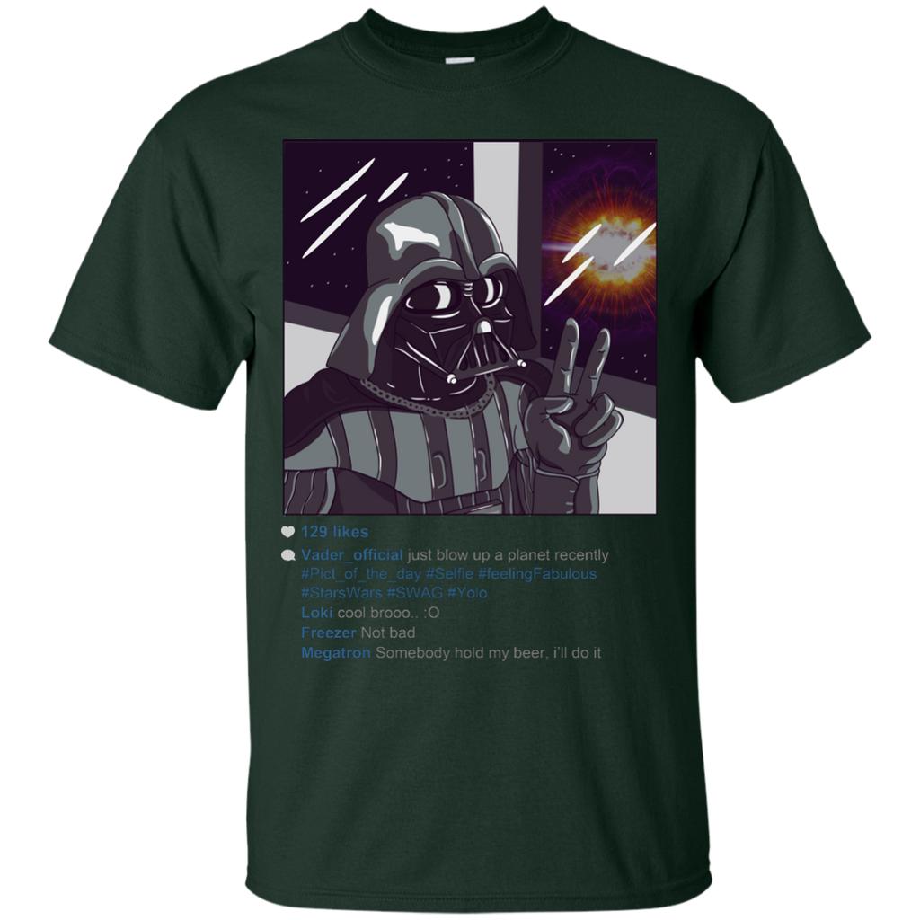 Dragon Ball - Darth Vader Selfie starwars parody T Shirt & Hoodie