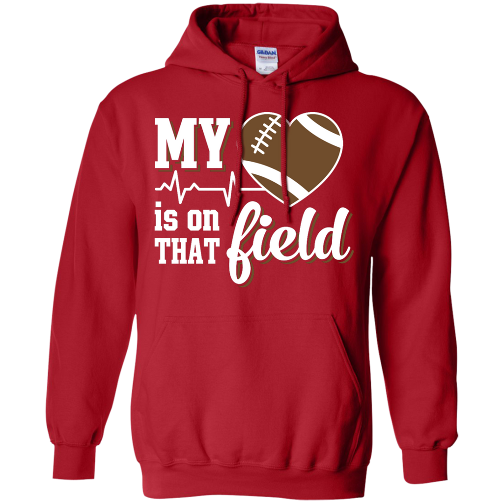 Yoga - MY HEART IS ON THAT FIELD FOOTBALL T shirt & Hoodie