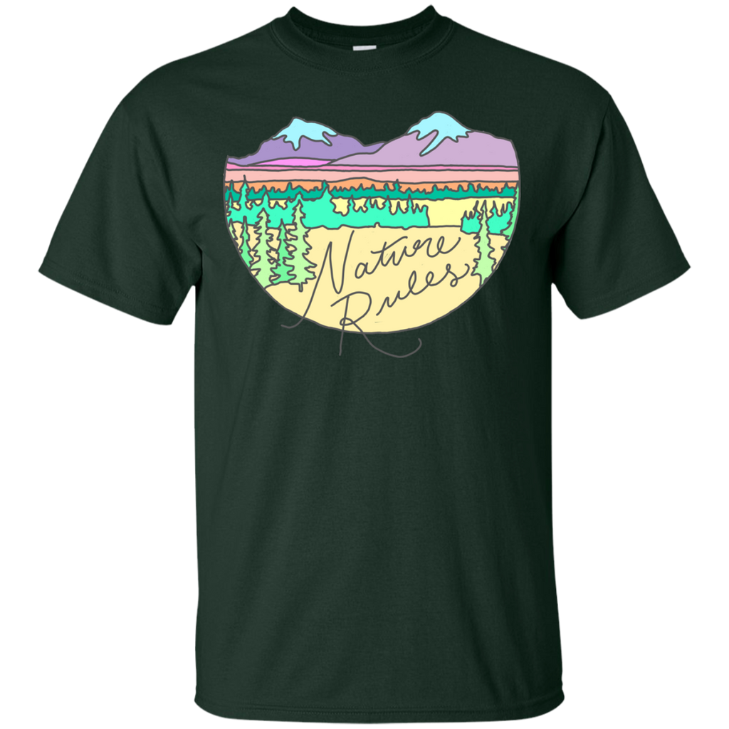 Camping - Nature rules landscape hiking climbin camping wilderness rules nature T Shirt & Hoodie