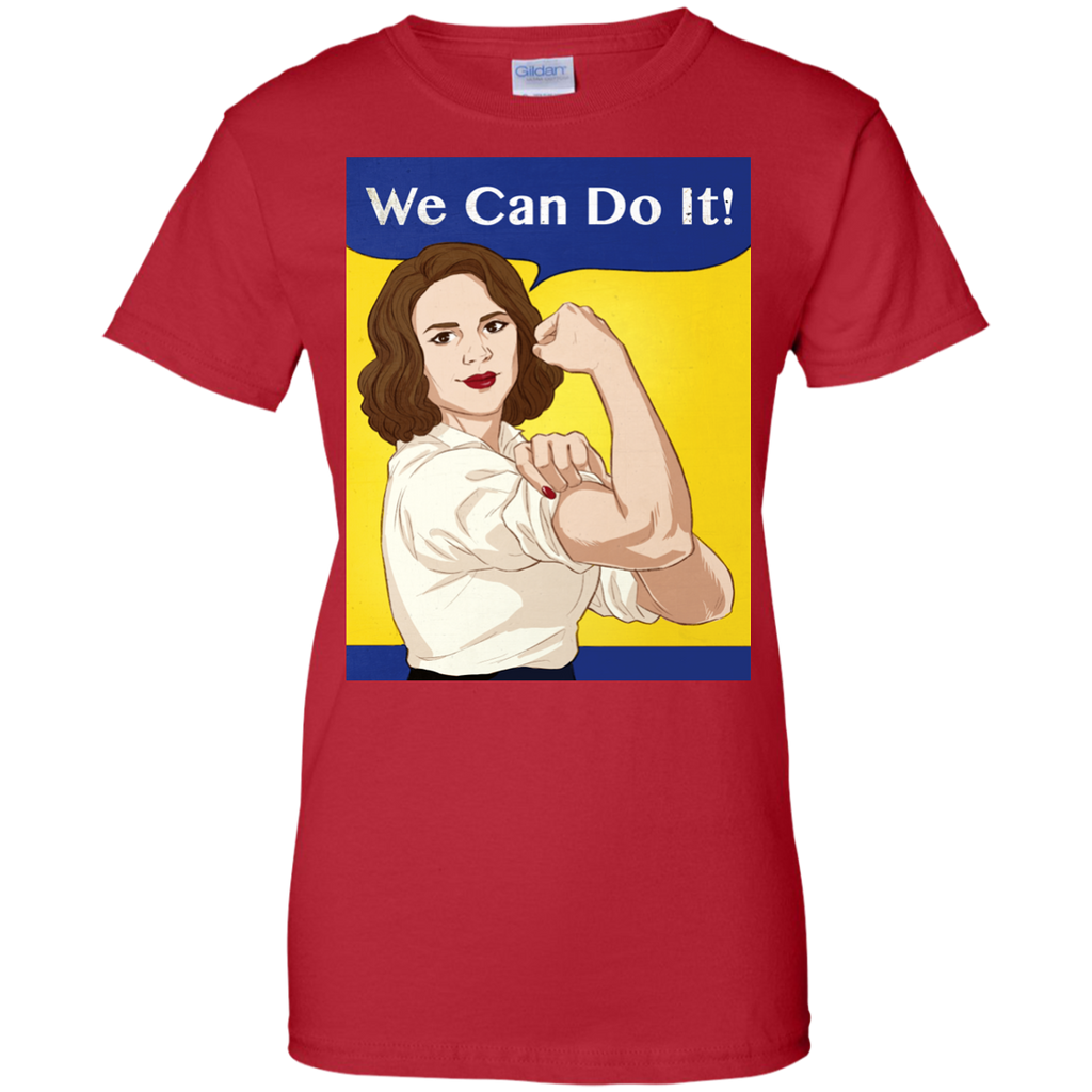 Marvel - Agent Carter  We Can Do It peggy carter T Shirt & Hoodie