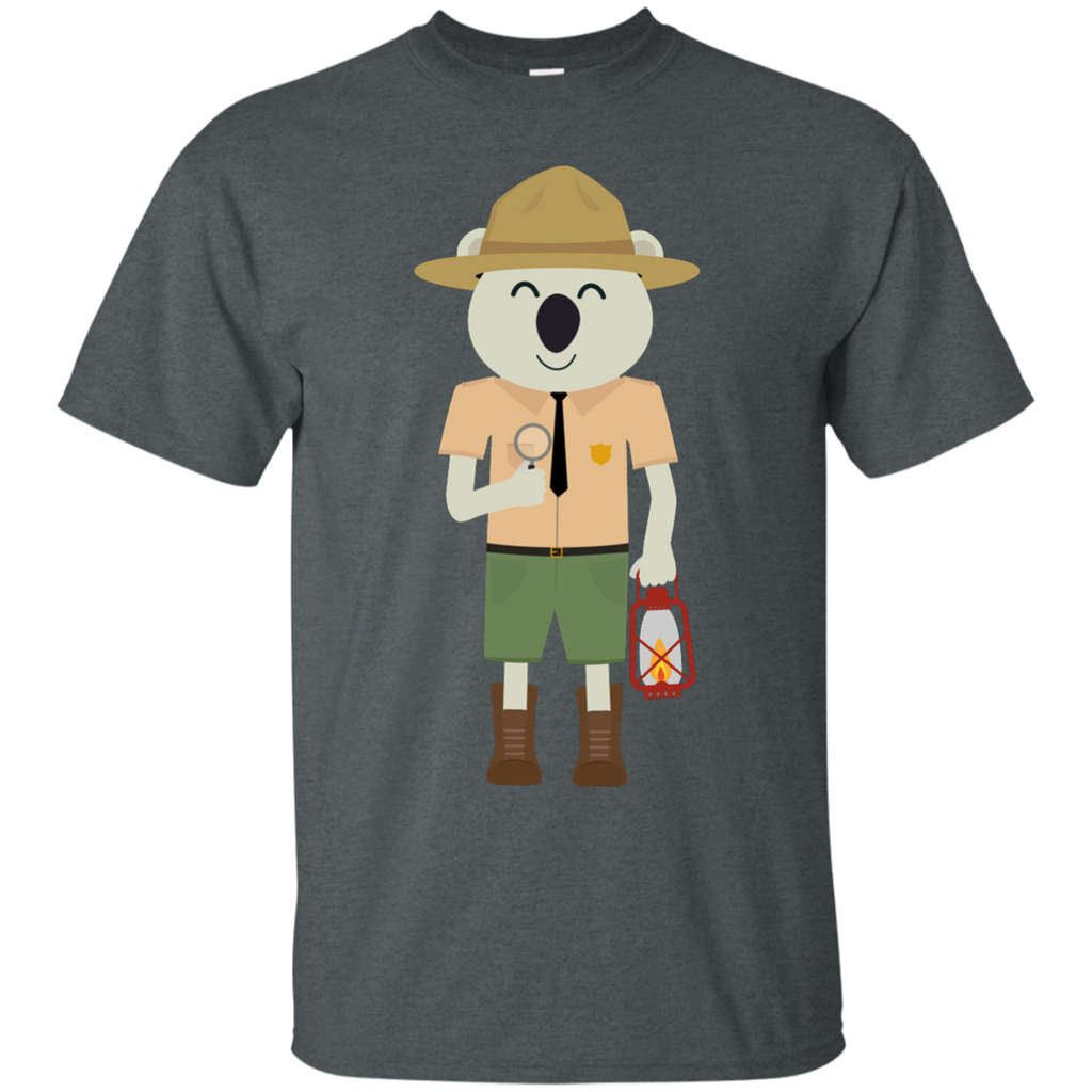 Camping - koala ranger with hat nature T Shirt & Hoodie
