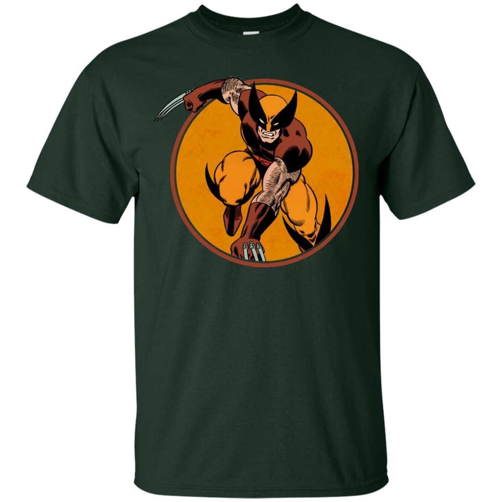 Marvel - Claws Retro Circle Series wolverine T Shirt & Hoodie