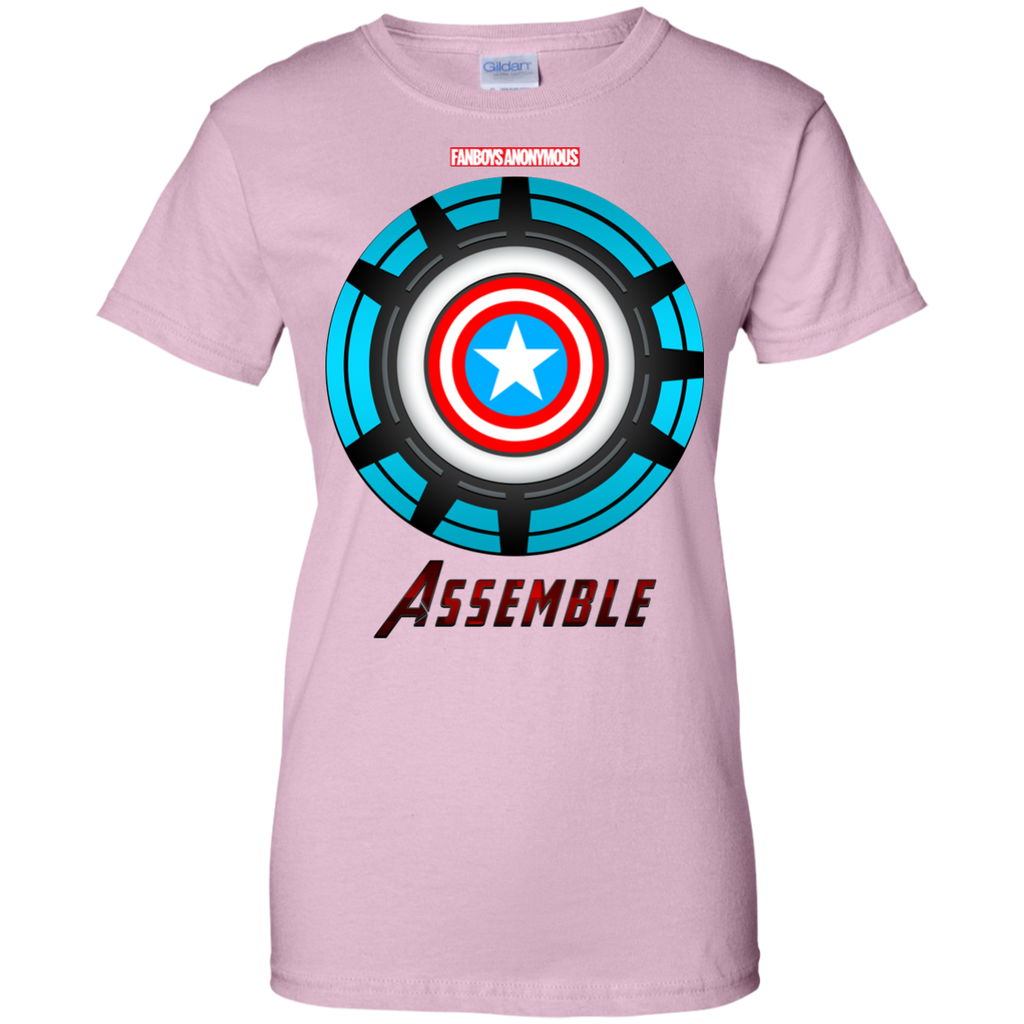 Marvel - Captain America Shield and Iron Man Arc Reactor marvel avengers T Shirt & Hoodie