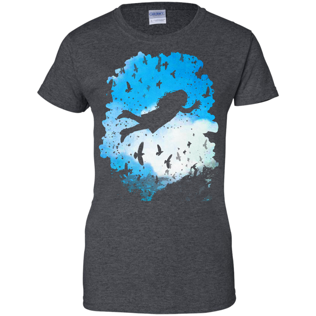 Camping - Above the Clouds trees T Shirt & Hoodie