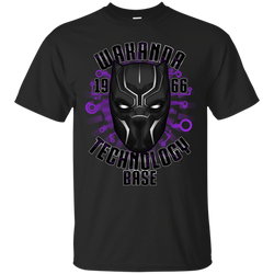 Marvel - Wakanda Technology Base black panther T Shirt & Hoodie