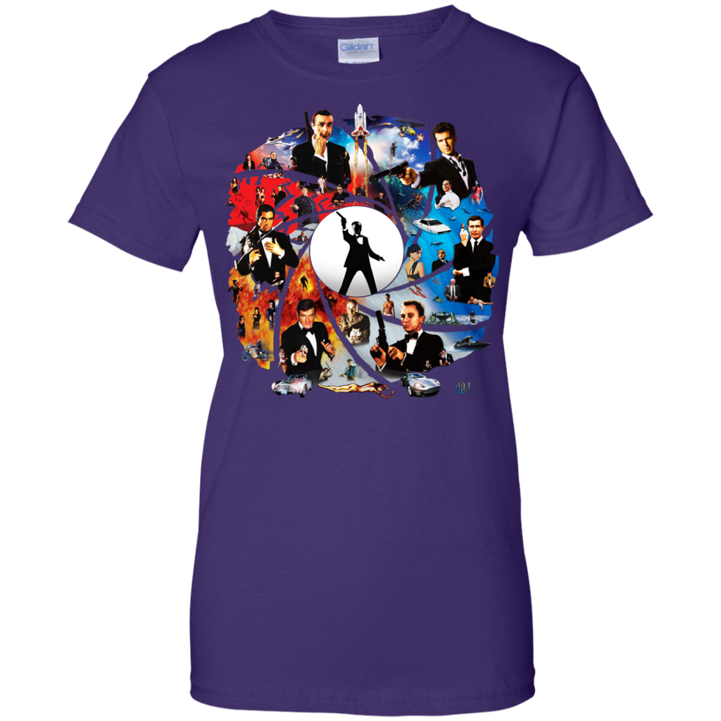 007 - The Incredible World Of 007 T Shirt & Hoodie