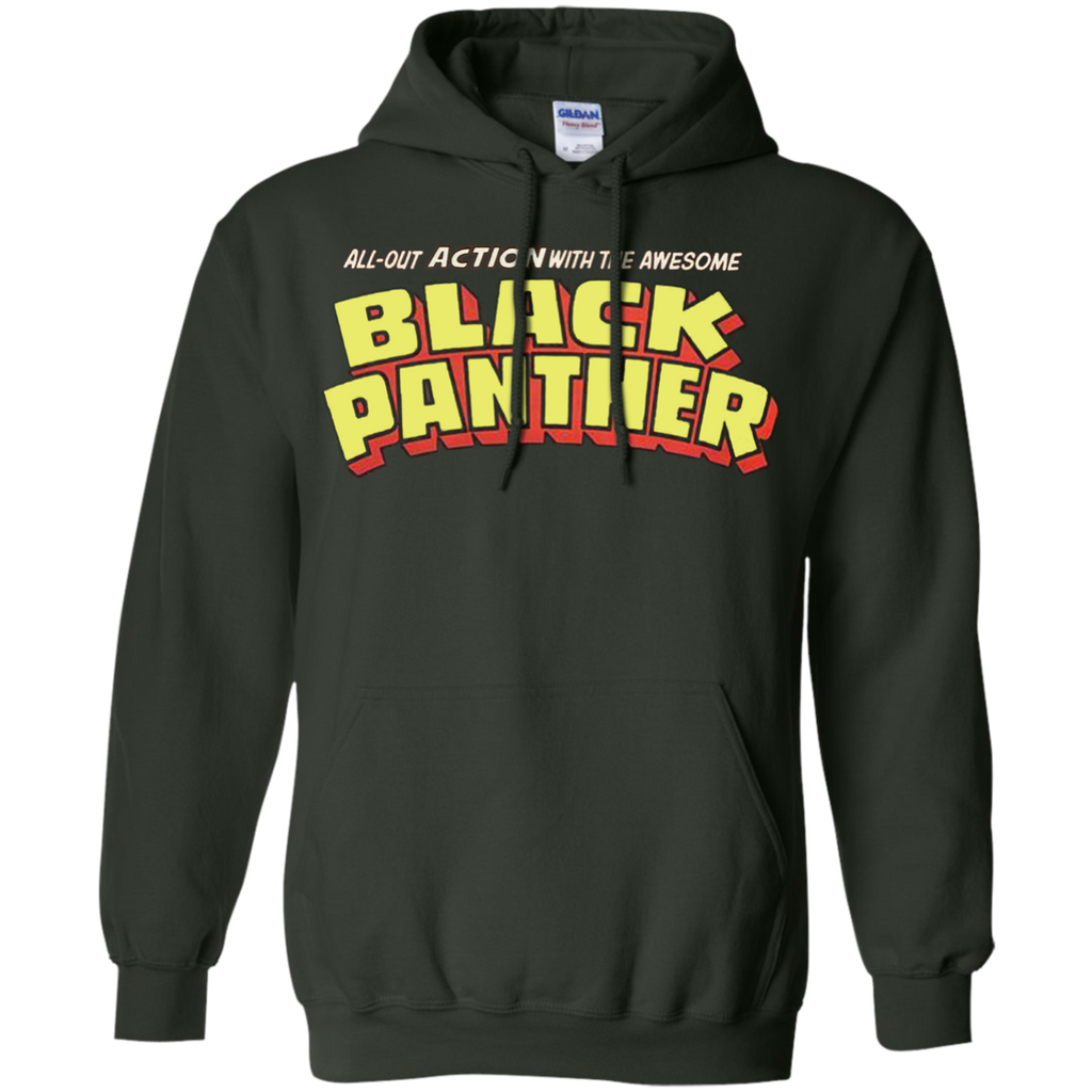 Marvel - Black Panther  Classic Title  Clean black panther T Shirt & Hoodie