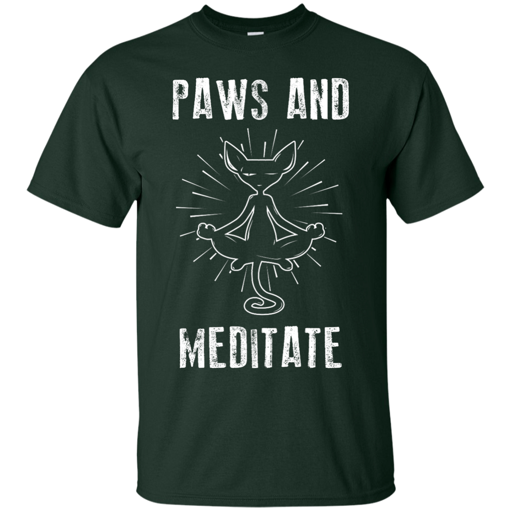 Yoga - PAWS AND MEDITATE 301 T shirt & Hoodie