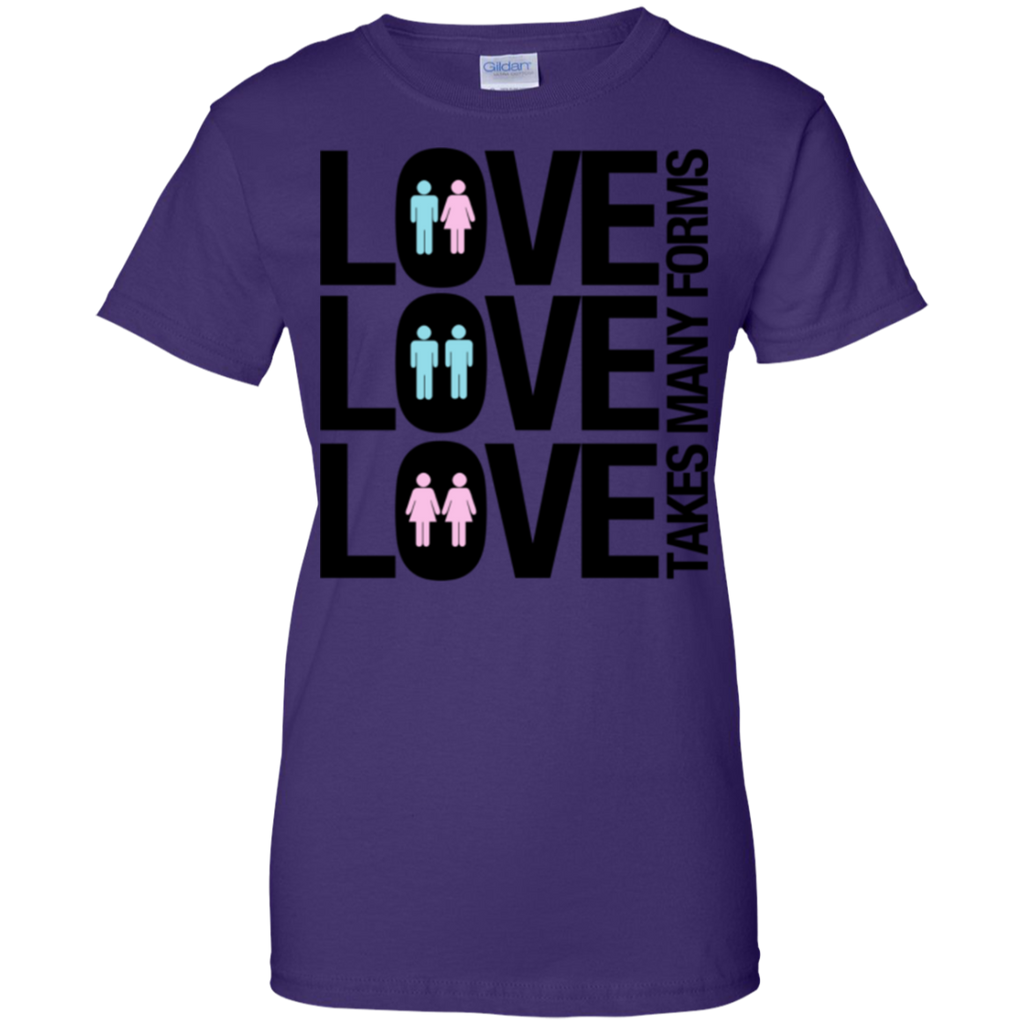 LGBT - Love Takes Many Forms agender T Shirt & Hoodie