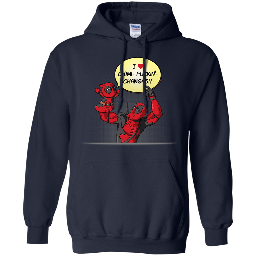 Marvel - Deadpool Puppet V1 chimichangas T Shirt & Hoodie