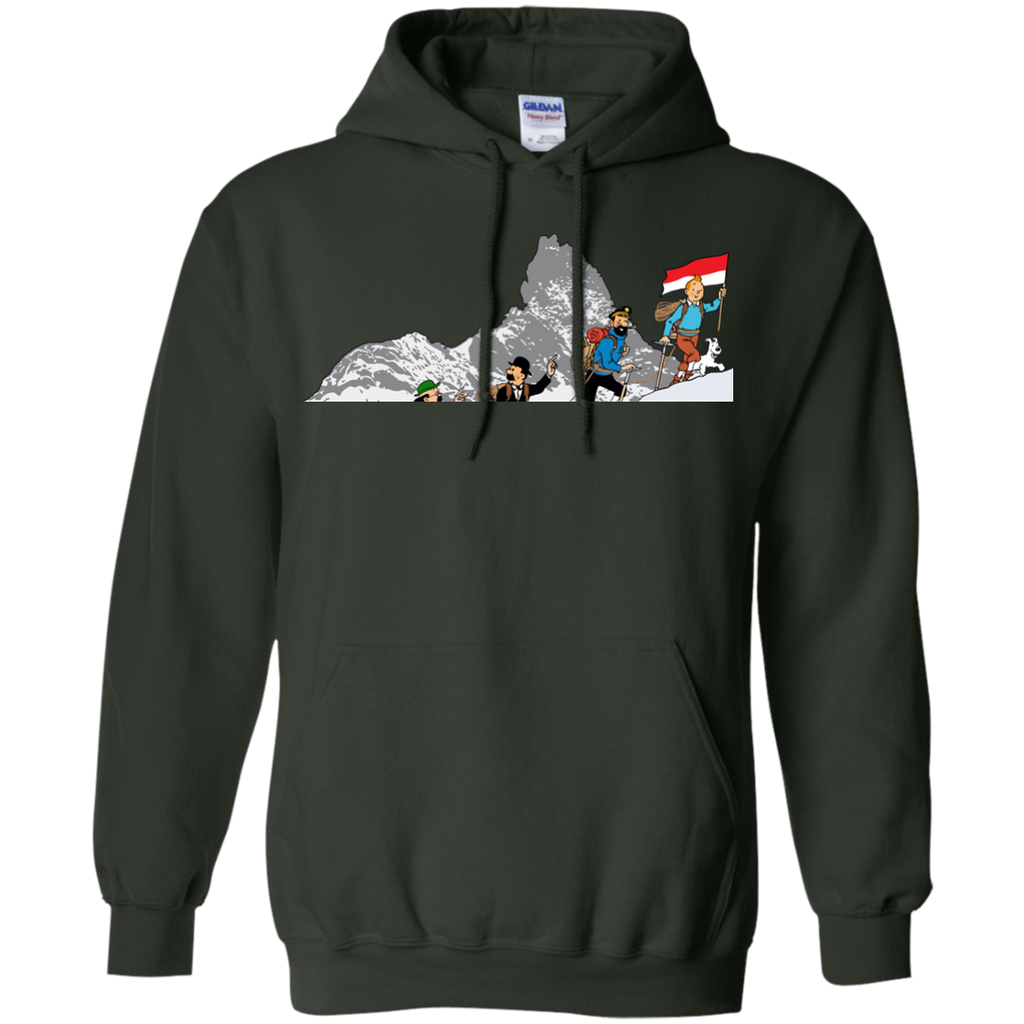 Hiking - Tintin at Carstenzs the adventures of tintin T Shirt & Hoodie