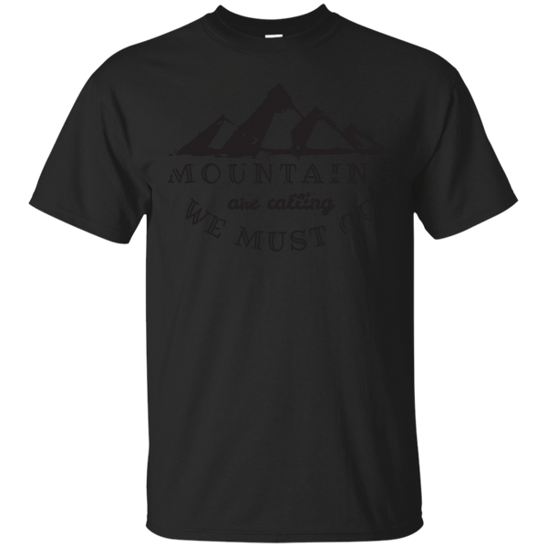 Camping - MOUNTAINS ARE CALLING nature lover T Shirt & Hoodie