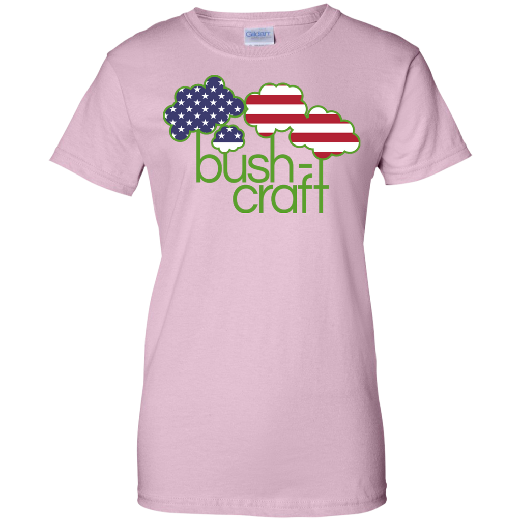 Hiking - Bushcraft USA flag hiker T Shirt & Hoodie