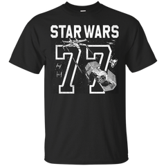 Star Wars - Star Wars 77 Athletic Print T Shirt & Hoodie