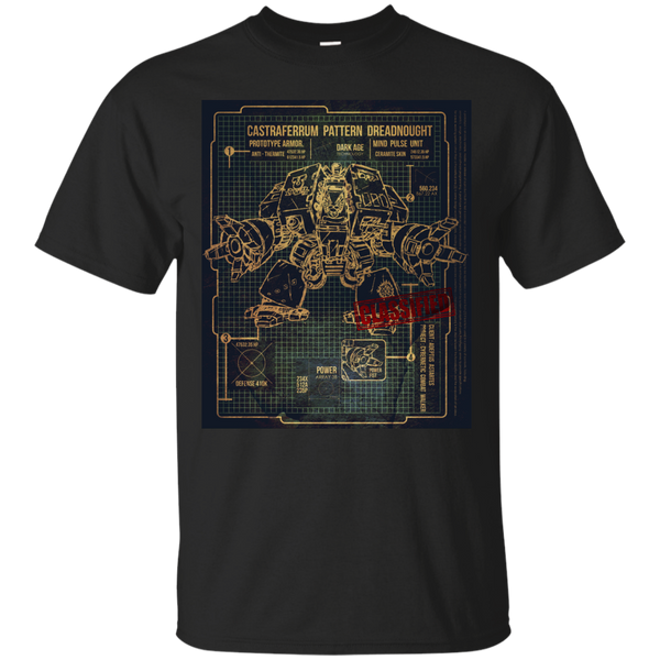Marvel - BLUEPRINT TEE  DREADNOUGHT 40K 1G warhammer T Shirt & Hoodie