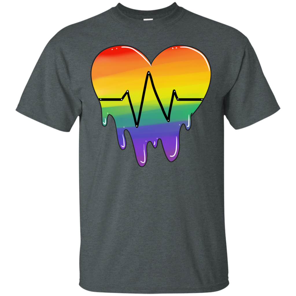 LGBT - Beating Heart pride T Shirt & Hoodie