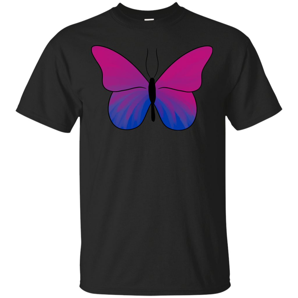 LGBT - Butterfly Bisexual Pride butterfly T Shirt & Hoodie