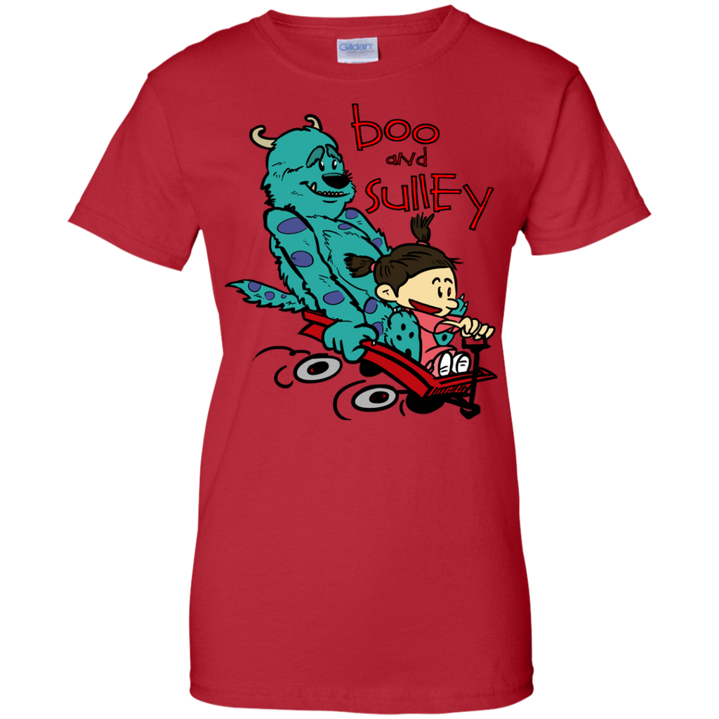 Marvel - Boo and Sulley as Calvin and Hobbes monsters and co T Shirt & Hoodie