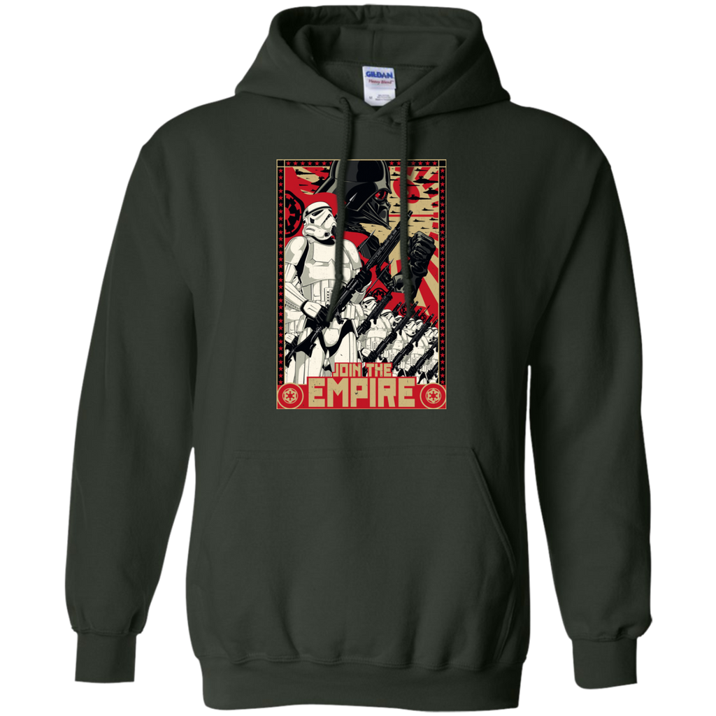 Star Wars - Empire Propaganda T Shirt & Hoodie