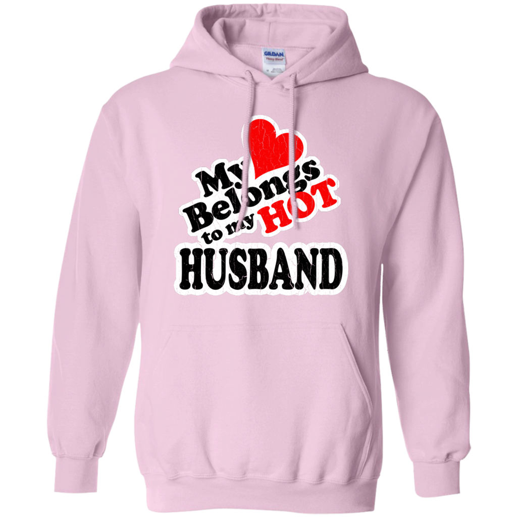 LGBT - My Heart Belongs to My HOT Husband vintage look i love my husband T Shirt & Hoodie