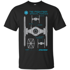 Star Wars - Special Forces Tie Fighter T Shirt & Hoodie