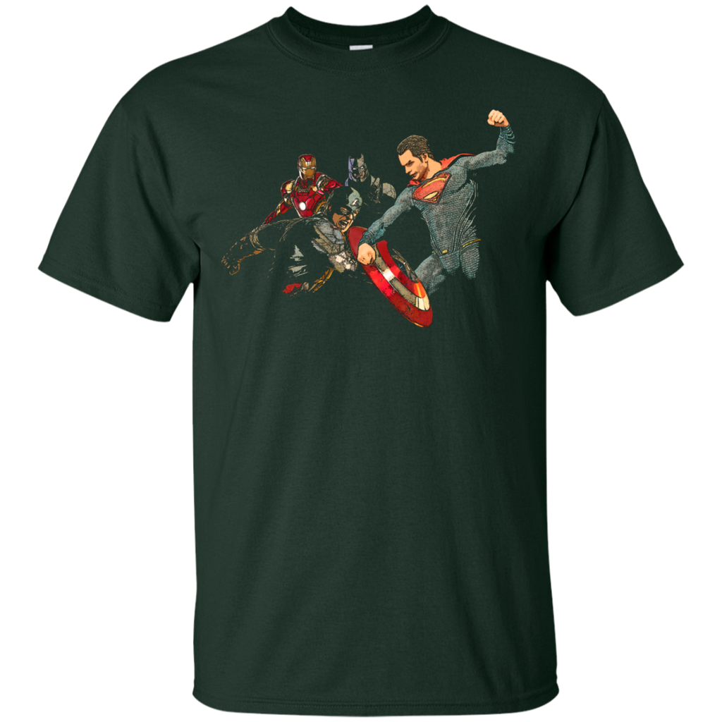 Marvel - Who Is Fighting Whom crossover T Shirt & Hoodie