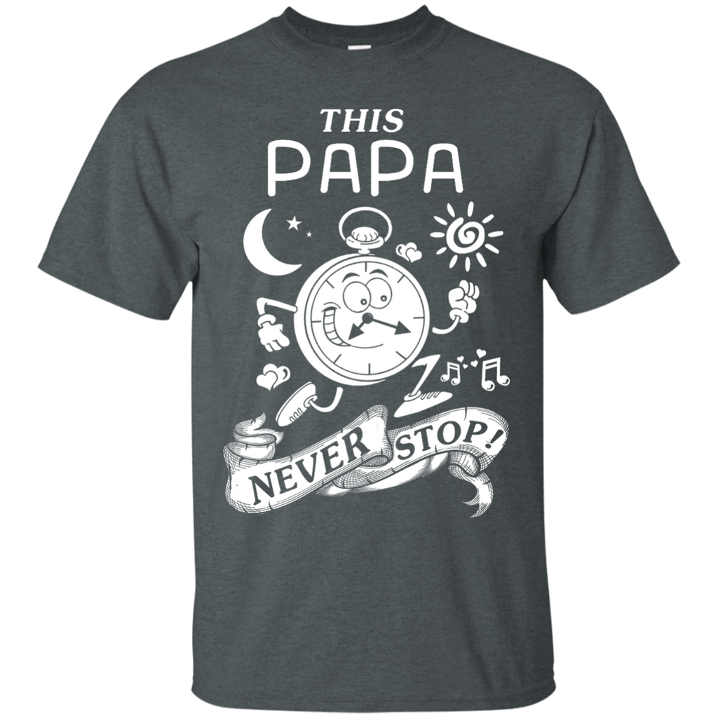 Yoga - THIS PAPA NEVER STOPS T shirt & Hoodie