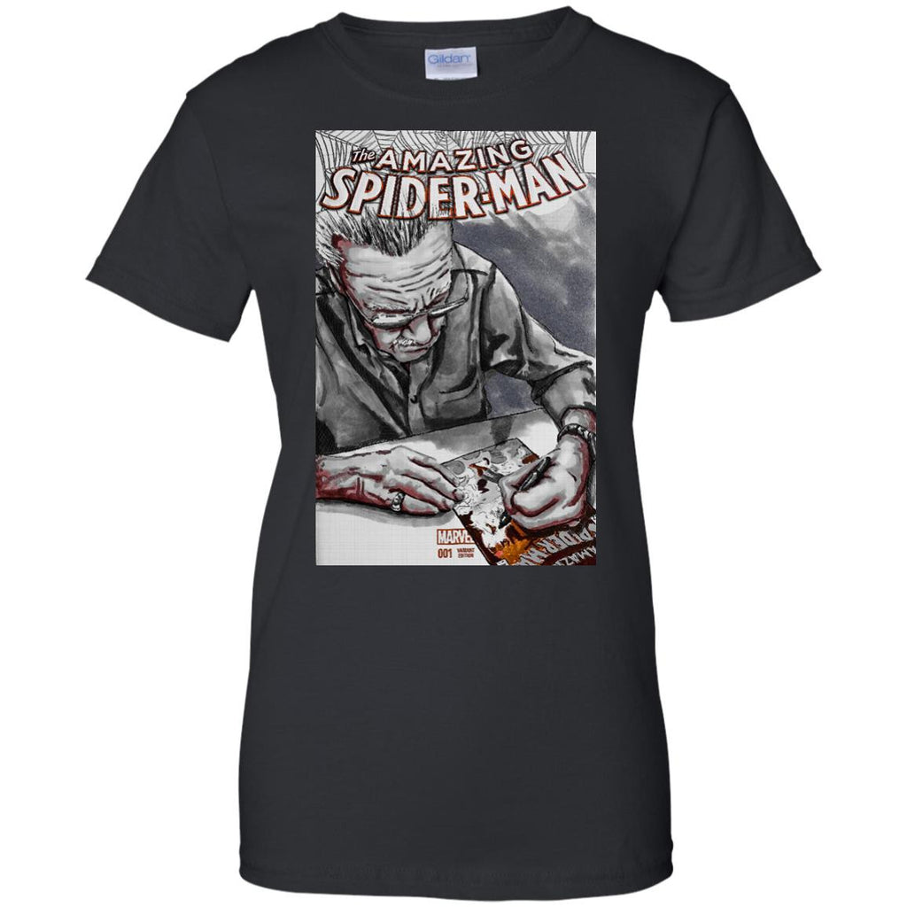 STAN LEE - Amazing SpiderStan gray variant T Shirt & Hoodie