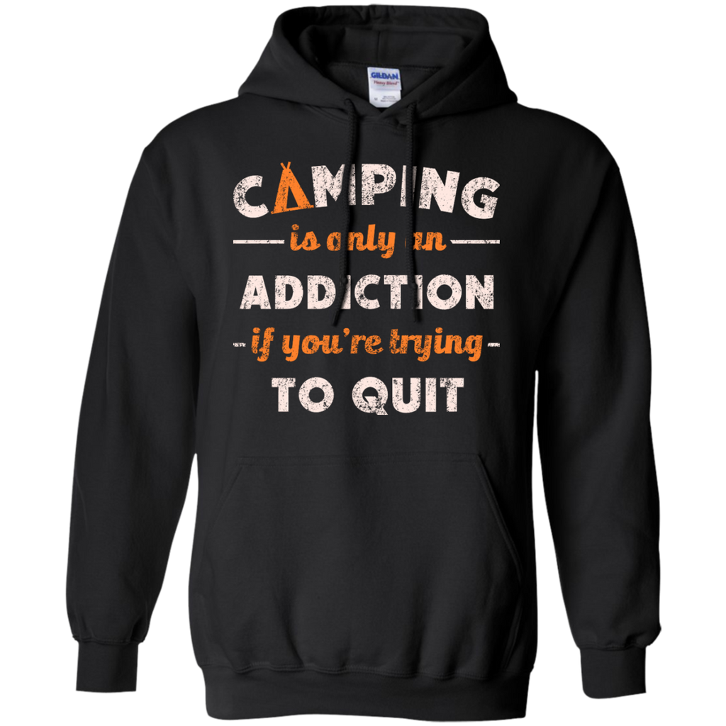Camping - Camping Addiction westfalia T Shirt & Hoodie