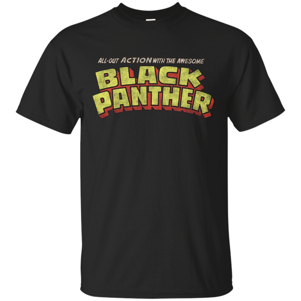 Marvel - Black Panther  Classic Title  Dirty black panther T Shirt & Hoodie