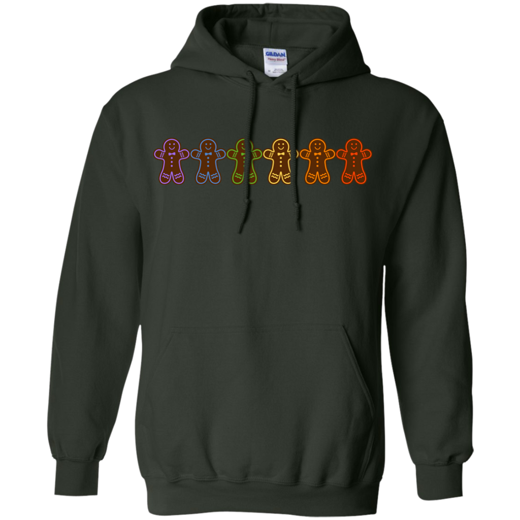 LGBT - Gingerbread Rainbow gingerbread man T Shirt & Hoodie