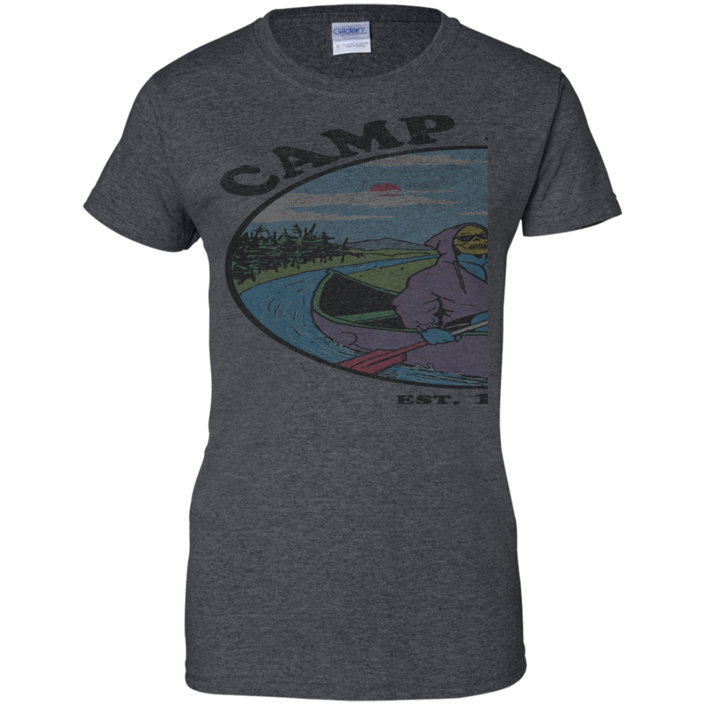 Camping - Camp Myah retro cartoons T Shirt & Hoodie