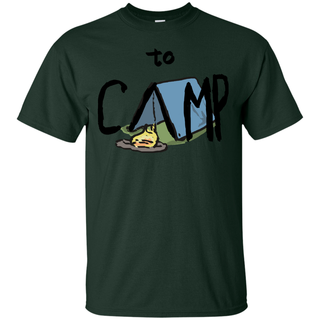 Hiking - to Camp to camp T Shirt & Hoodie