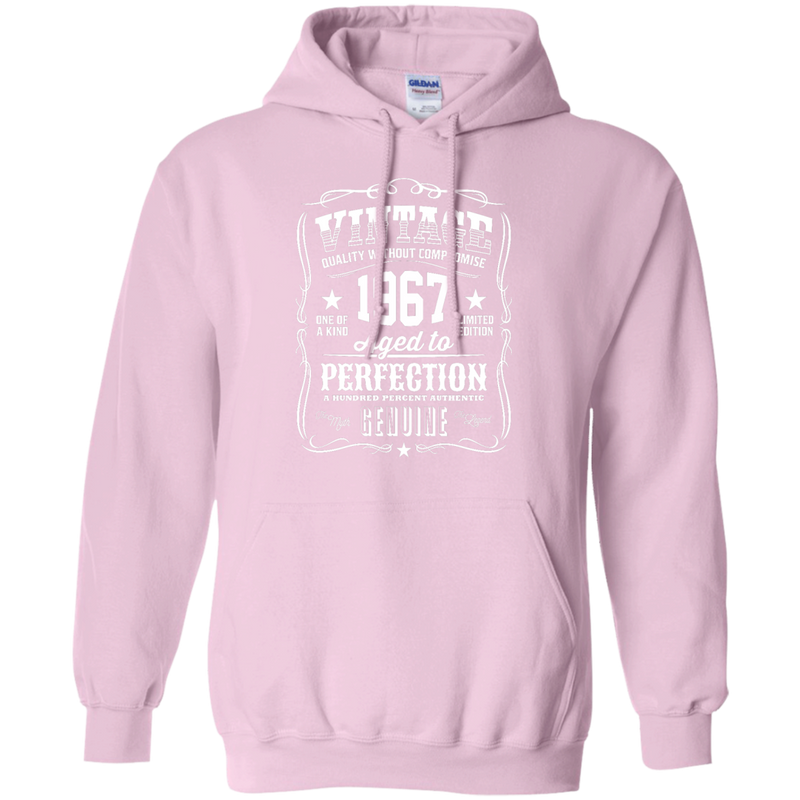 faf5decb ... Mom - Vintage 1967 Aged to Perfection born in 1967 T Shirt & Hoodie ...