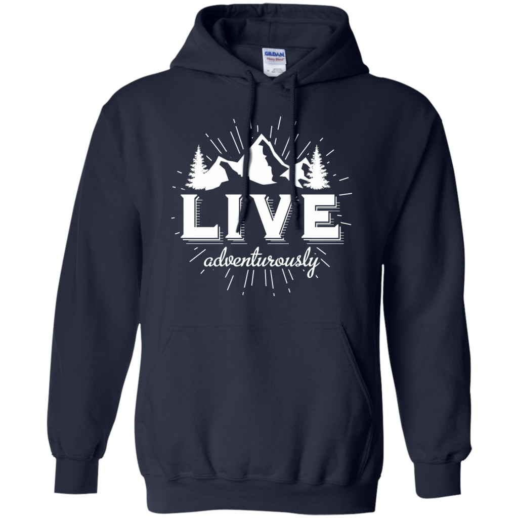 Hiking - Live Adventurously photography T Shirt & Hoodie