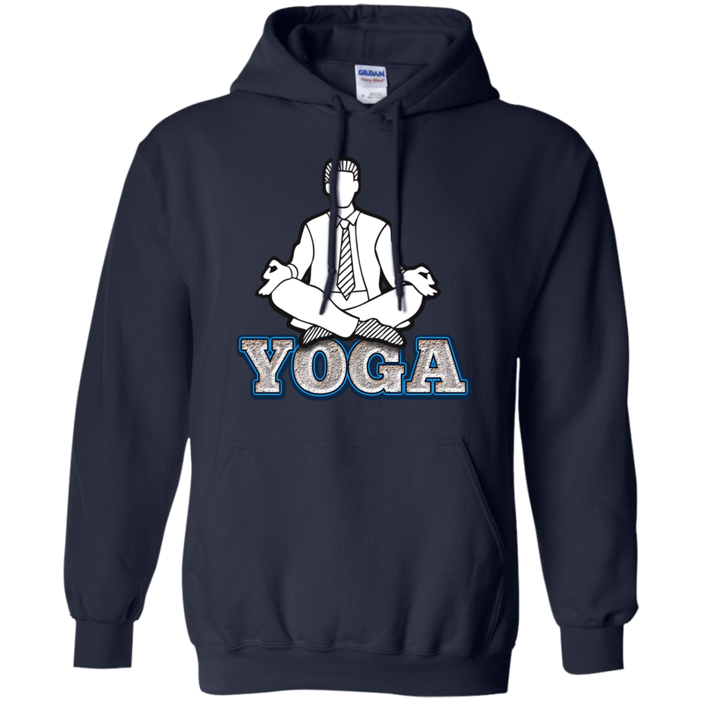 Yoga - Businessman posing yoga sketch style T Shirt & Hoodie