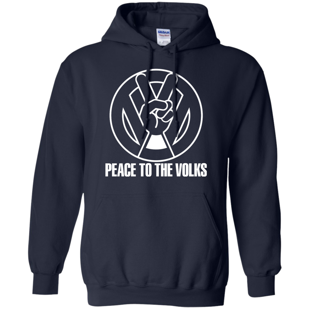 Camping - Peace to the Volks white peace to the volks T Shirt & Hoodie