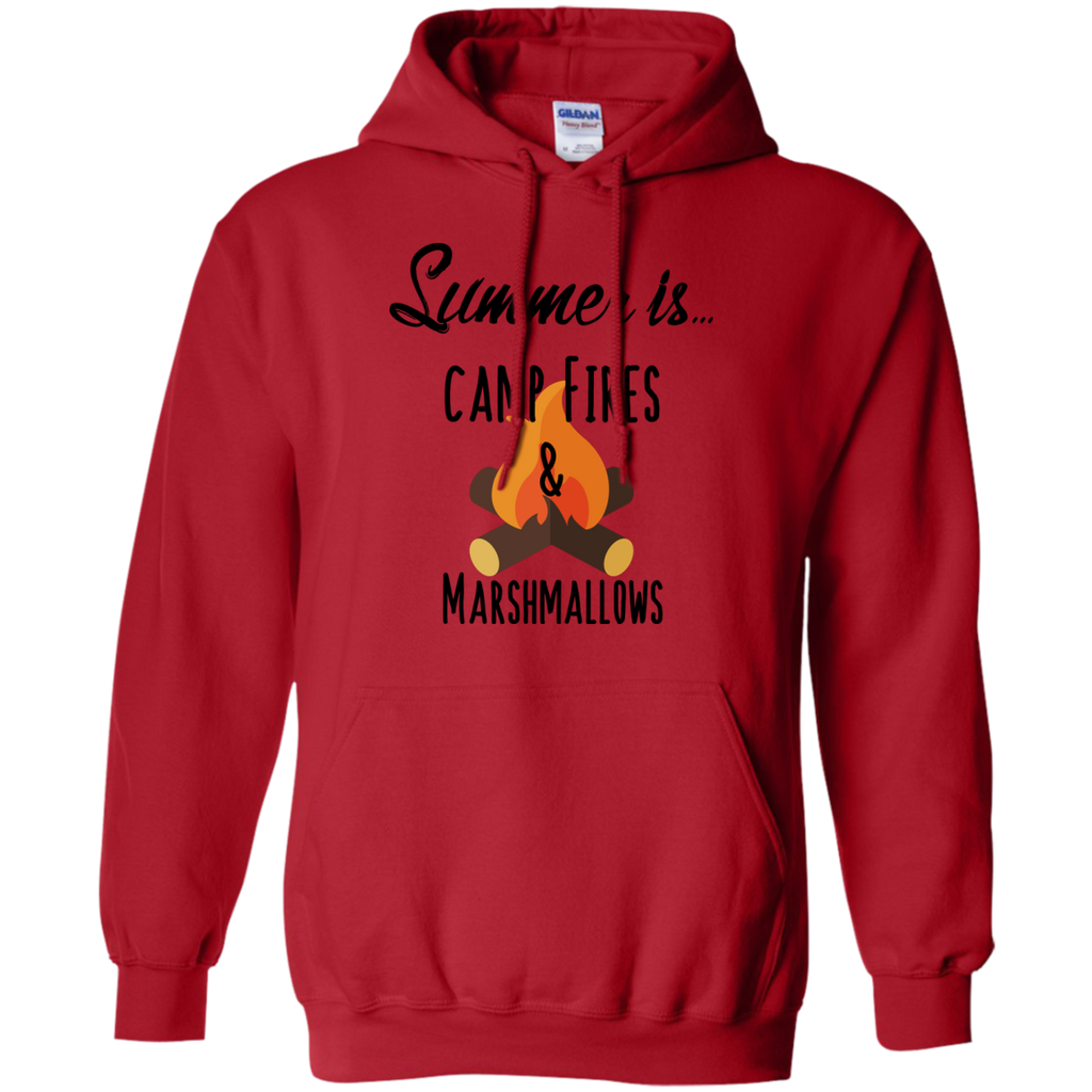 Camping - Summer Is Camp Fires  Marshmallows  Smores summer time T Shirt & Hoodie