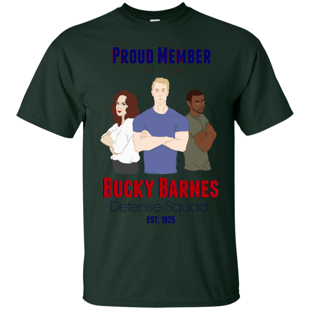 Marvel - Bucky Barnes Defense Squad civil war T Shirt & Hoodie
