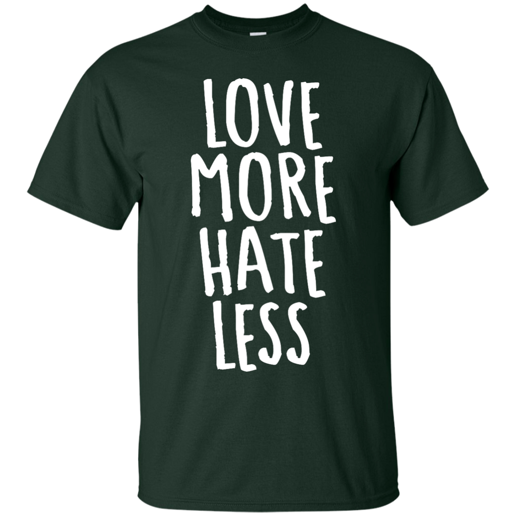LGBT - Love More Hate Less love T Shirt & Hoodie