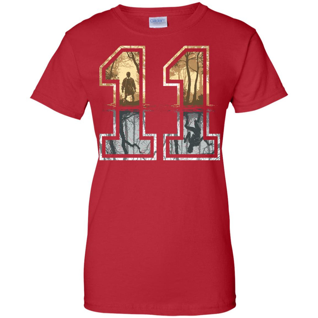 STRANGER THINGS - Strange Number 11 goldsilver T Shirt & Hoodie