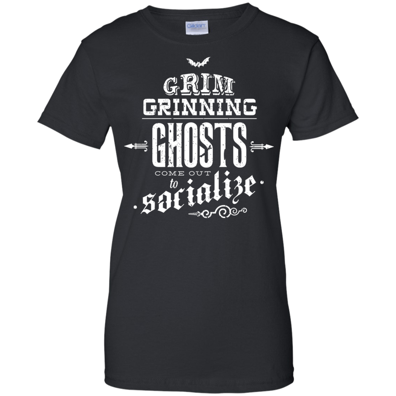 f6f572f1 HAUNTED MANSION - Grim Grinning Ghosts T Shirt & Hoodie – Minimize Shop