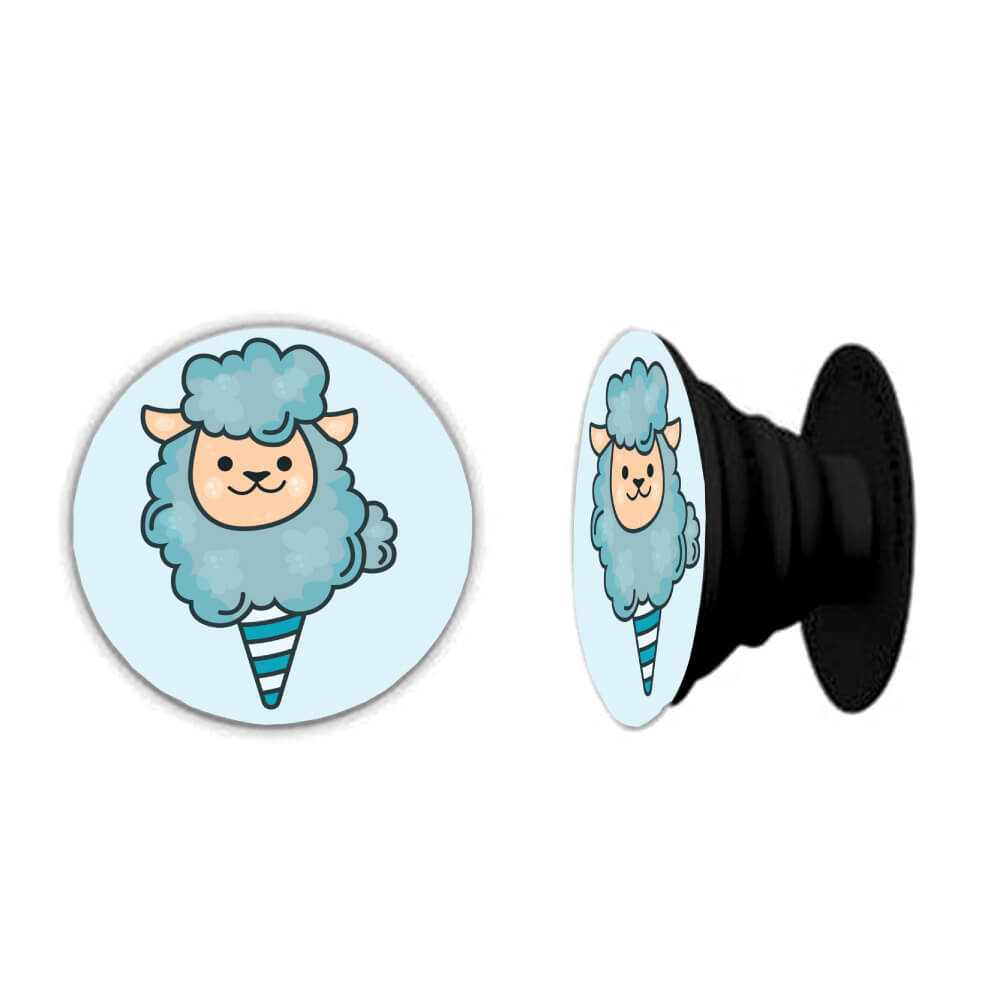 Cotton Candy Sheep PopSocket