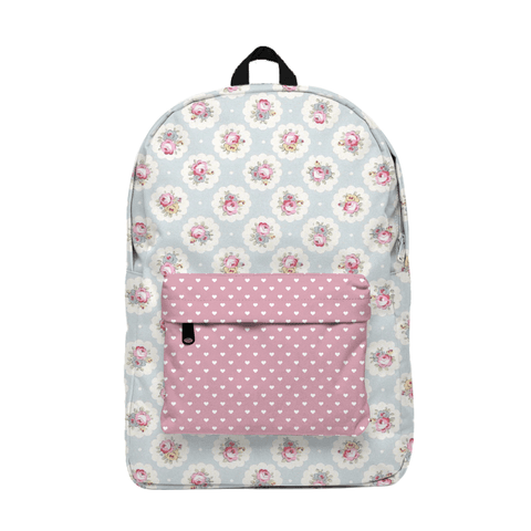 Romantic Rose Mochila Backpack