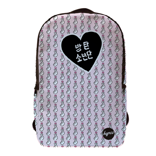 BTS Love Mochila Porta Laptop